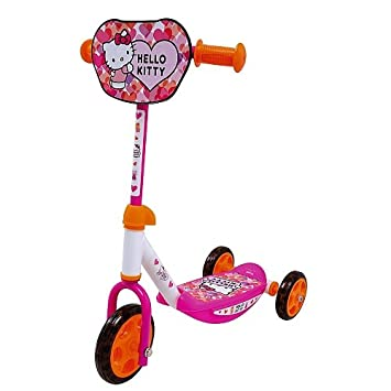 Smoby 750104 – Hello Kitty Patinete, 3 Ruedas Triciclo