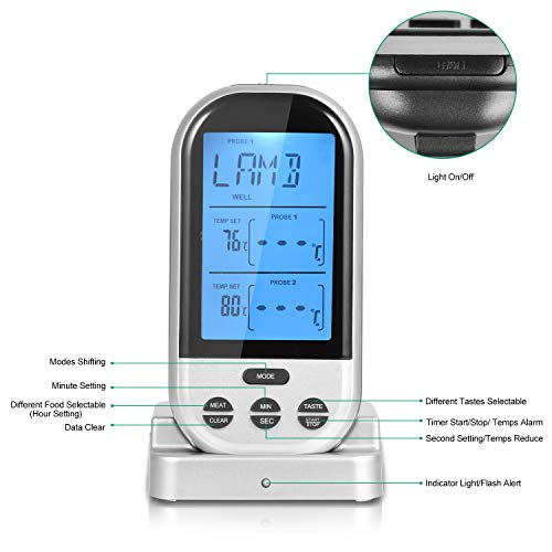 Buy the best wireless meat thermometer