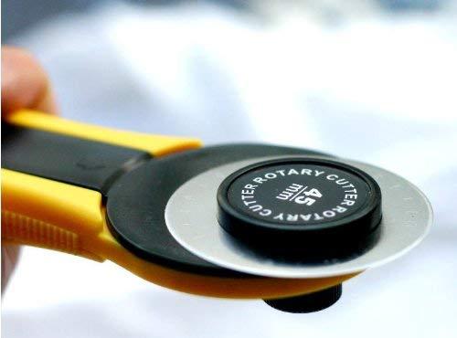 5 X Rotary Cutter Blades 45mm (Fits All Including OLFA, FISKARS & DAFA)