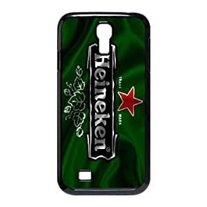 Pattern Hard Case Cover Samsung Galaxy S4 I9500 Cell Phone Case Black Heineken Ywoao Back Skin Case Shell