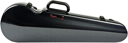 - Bam High Tech Contoured Violin Case Carbon Black
