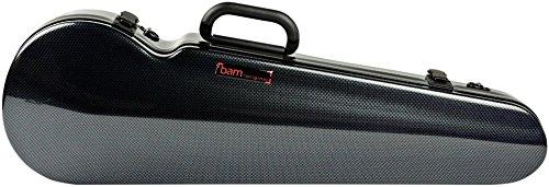 Ride Violin - Bam High Tech Contoured Violin Case Carbon Black