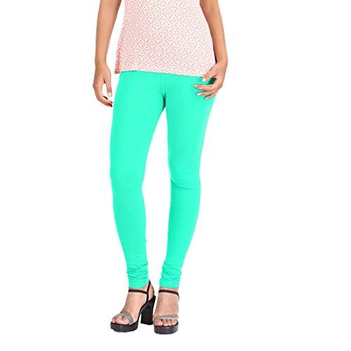 Price comparison product image HUDAI Rexona GreenPremium Quality Four Way Stretch Cotton Lycra Leggings For Women (Pack of 1, XXL)