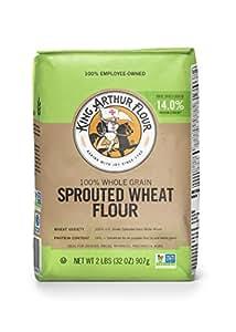 Amazon.com : King Arthur Flour Sprouted Wheat Flour, 2 Lb