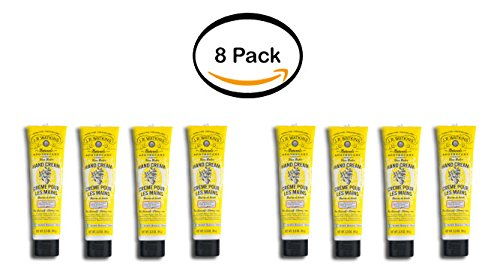 PACK OF 8 - J.R. Watkins Naturals Apothecary Shea Butter Hand Cream Lemon Cream, 3.3 (Watkins Lemon Cream Shea Butter Lotion)