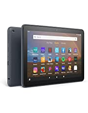 """Fire HD 8 Plus tablet, HD display, 32 GB, our best 8"""" tablet for portable entertainment, Slate"""