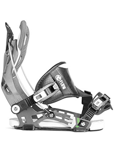 (Flow NX2 Hybrid Snowboard Bindings Space Grey Mens Sz L (7.5-11.5))