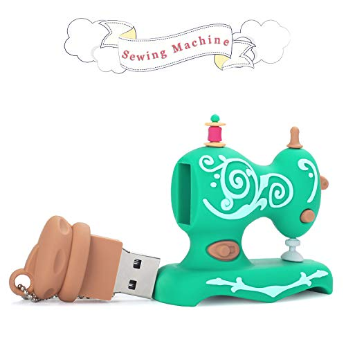 Embroidery Sewing Machine Design USB Flash Drive 16GB Gift Pen Drive for Brother PE800 SE600