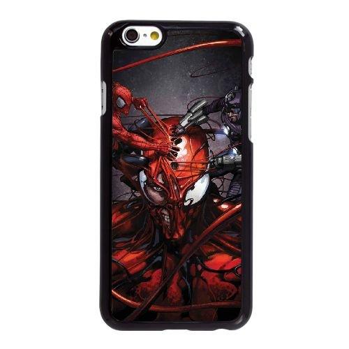 A4F18 Carnage G8U3WD coque iPhone 6 Plus de 5,5 pouces cas de couverture de téléphone portable coque noire WW0WRC3TD