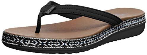 Skechers BOBS Women/'s Bobs Sunkiss-Star Fish Sandal