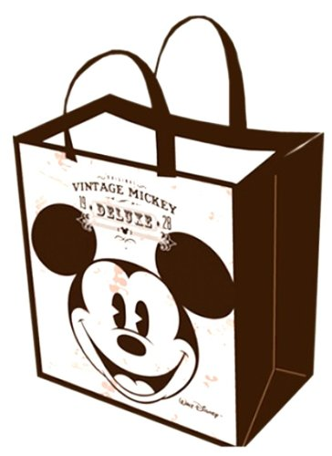 (Vintage Style Mickey Mouse Face Non-Woven Tote)