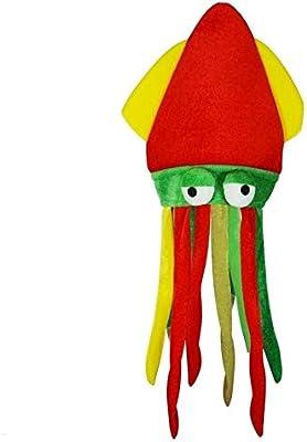 Sombrero para disfraz, diseño de pulpo CMP Rasta: Amazon.es ...