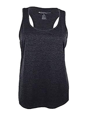 Ideology Women's Plus Size Essential Racerback Performance Tank Top