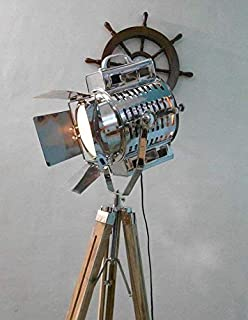 Antique Style Metal Nautical Floor Lamp For Living Room Bedroom Decoration