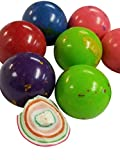 Jawbreakers Assorted Colors 1 Inch Rock Hard Candy Rainbow Candy 2 Pounds-Pressed Dextrose Candy Center