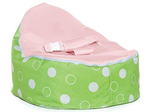 Chibebe Green Polka Snuggle Pod (Pink)