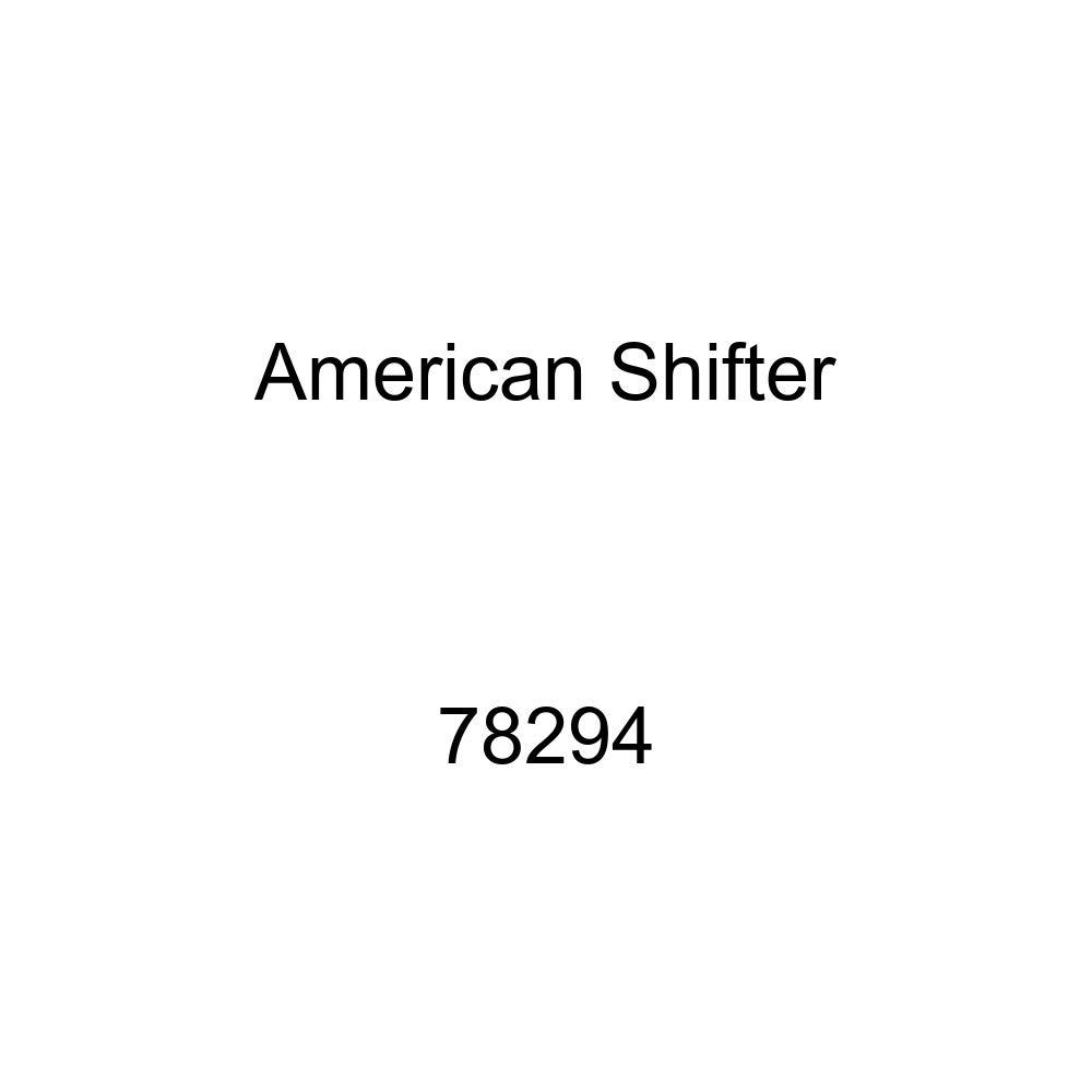 American Shifter 78294 Black Metal Flake Shift Knob with M16 x 1.5 Insert White Skull 1
