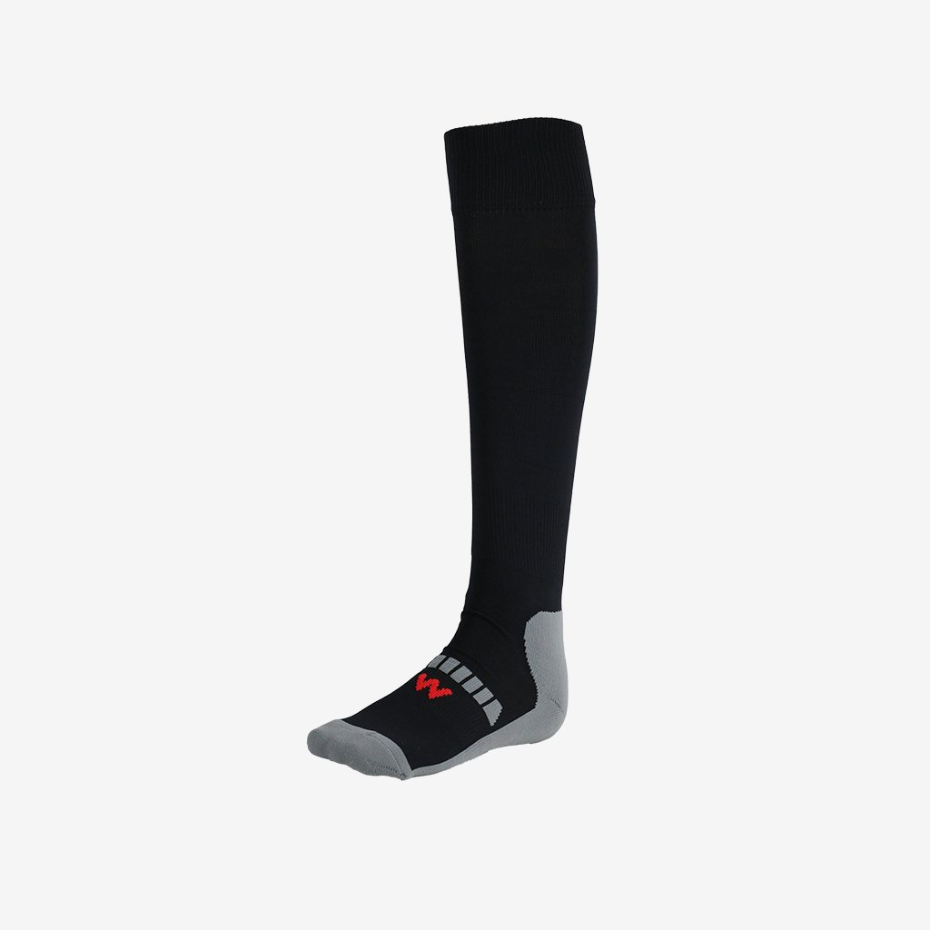 Woodpecker Pic pour Homme 00105Football/Rugby/Hockey Chaussettes, Noir, Taille 12K-2