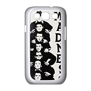 Samsung Galaxy S3 9300 Cell Phone Case Covers White Madness Phone cover W9323495