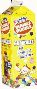 Bubble Gum Refill - Dubble Bubble Gumballs, 20oz Carton