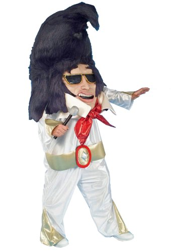 [Forum Parade Pleasers Oversized King Of Rock-N-Roll Costume, Multi, One Size] (Rock And Roll Halloween Costume)