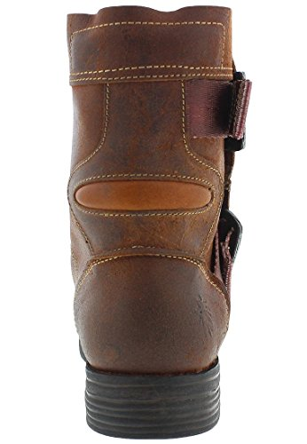 700 Marron Seli Boots Fly Womens London Leather FnwxOntaYP