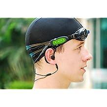 Shero Waterproof MP3 Player 4GB including Waterproof Earphones for Running Swimming