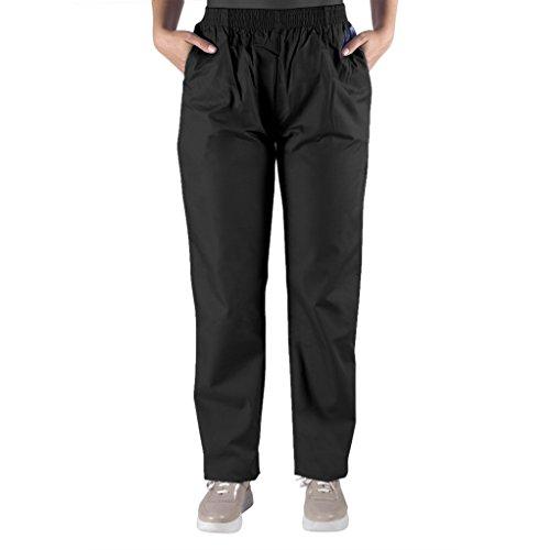 Nurse Scrubs for Men & Women: Unisex Medical Nursing Pants S Black