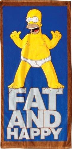 United Labels 806125 Los Simpson - Toalla de baño con diseño de Homer (75 x 150 cm)https://amzn.to/2TF97rl