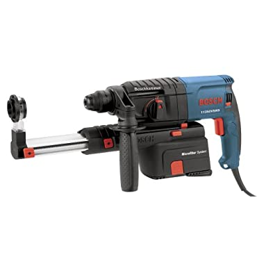Bosch 11250VSRD 6.1 Amp 3/4 Rotary Hammer with Dust Collection