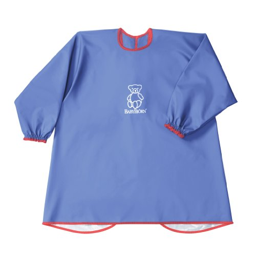 babybjorn-eat-play-smock-blue