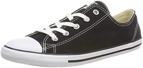 Converse Womens Ctas Dainty Ox Black Women's Gym Shoes ...