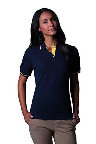Kustom Kit - Polo -  - Manches courtes Femme -  Blanc - Blanc - 46