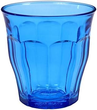 Duralex 1027SR06 Picardie – Juego de 6 Vasos de Cristal Azul 8,5 ...