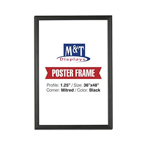 Amazon.com - DisplaysMarket Snap Frame, 36X48 Poster Size, 1.25 ...