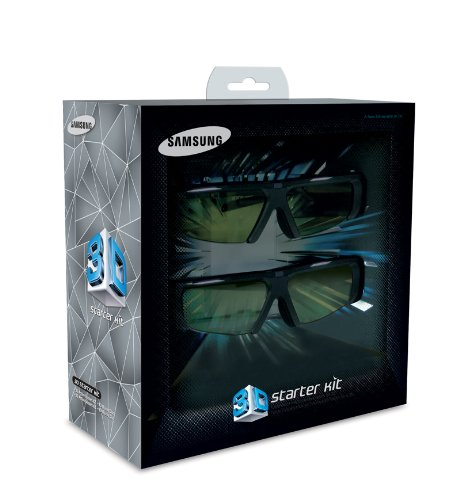 Samsung 3D Starter Kit SSG-P2100T With Monsters Vs Aliens Disc