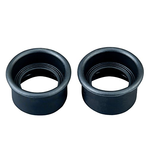 OMAX Small Pair of Rubber Eyecups for Microscopes (Best Pair Of Binoculars)