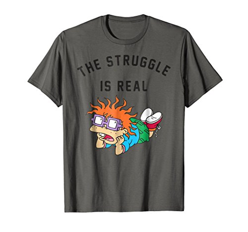 Rugrats Chuckie Finster The Struggle T-Shirt]()