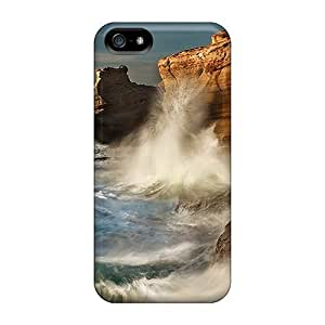 For HTC One M7 Phone Case Cover - Climbing Waves For HTC One M7 Phone Case Cover Wallpaper Protective Cases Compatibel With For HTC One M7 Phone Case Cover