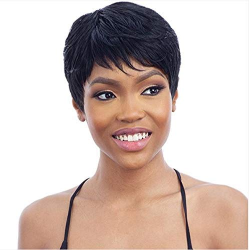 Mayde Beauty Synthetic Wig – TAY (1B Off Black)