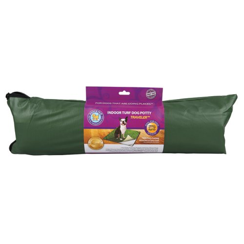 Pooch Pads Indoor Turf Dog Potty, Traveler, Small/18