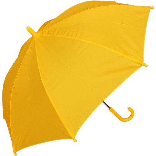 RainStoppers W101CHYELLOW 34-Inch Children's Umbrella, Yellow