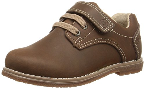 pediped Flex Storm Athletic Sneaker , Chocolate Brown, 27 EU