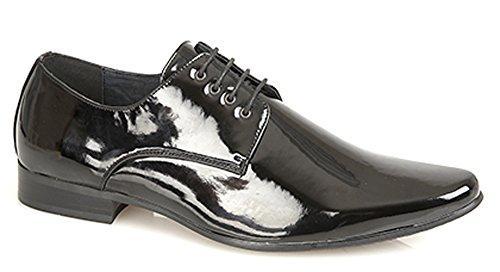 Goor , Chaussures de ville à lacets pour homme noir noir
