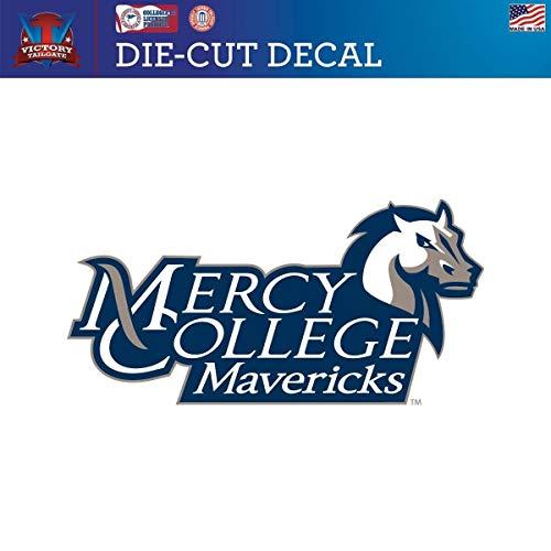 Victory Tailgate Mercy College Mavericks Die-Cut Vinyl Decal Logo 2 (Approx 6x6)