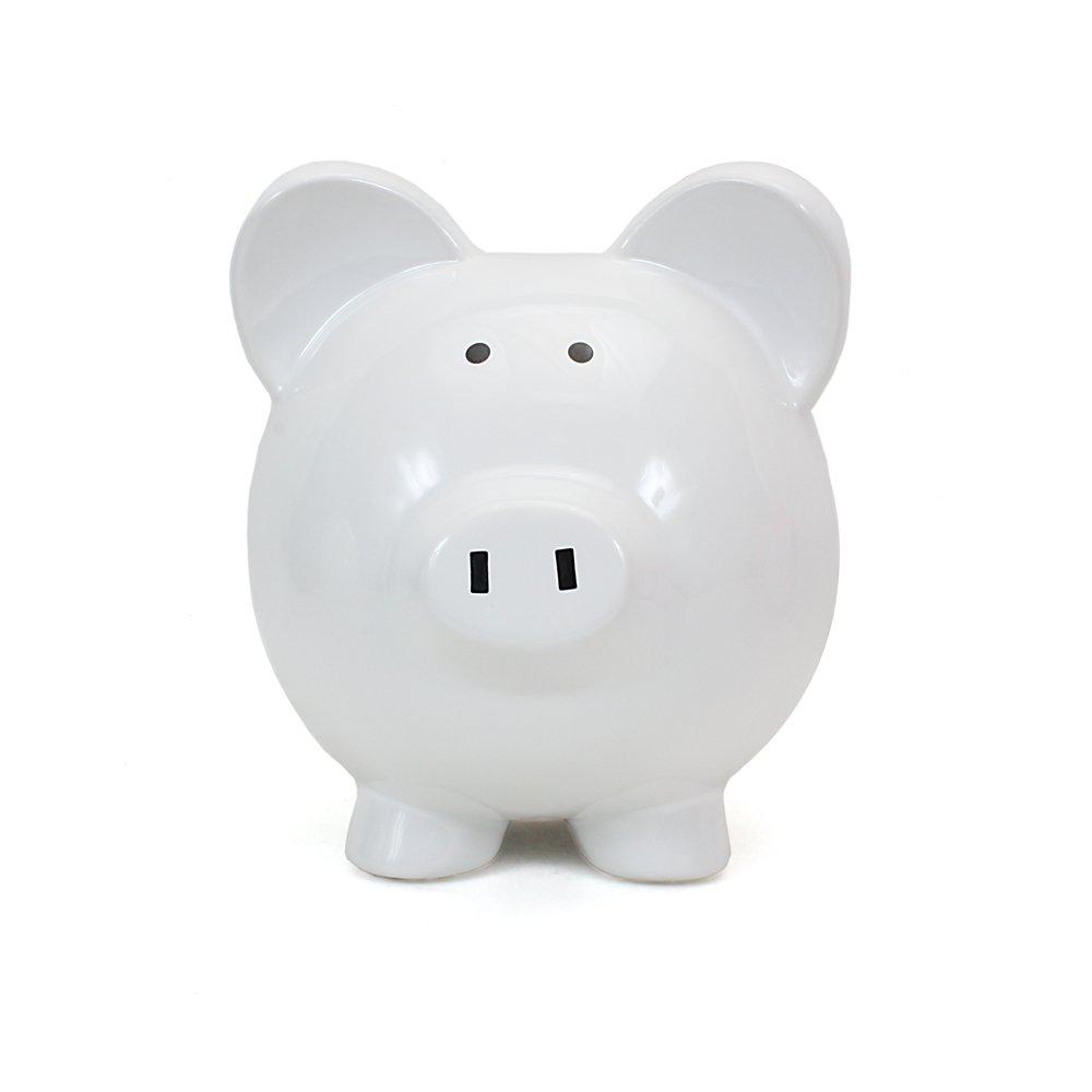 Child to Cherish Big Ear Piggy Bank, Blue 3808BL
