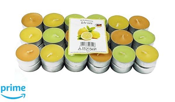 Citronela Velas REPELENTE DE MOSQUITOS MOSCA INSECTOS candelita luces de té perfumada
