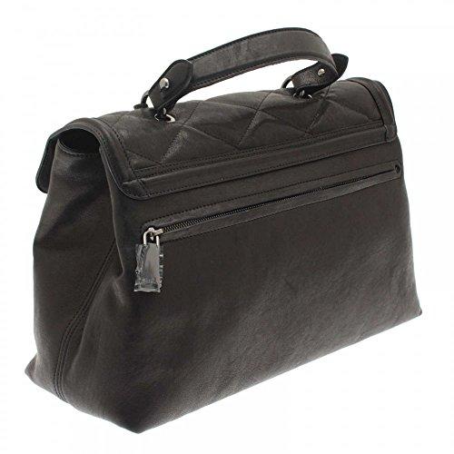 Handbag Black Padlock Abro Monogramme Quilted qOtO16TZx