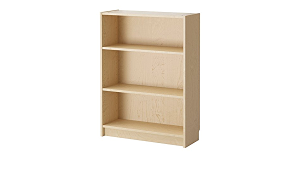 BILLY de IKEA - librería, 80 x 28 x 106 cm - chapa de abedul ...