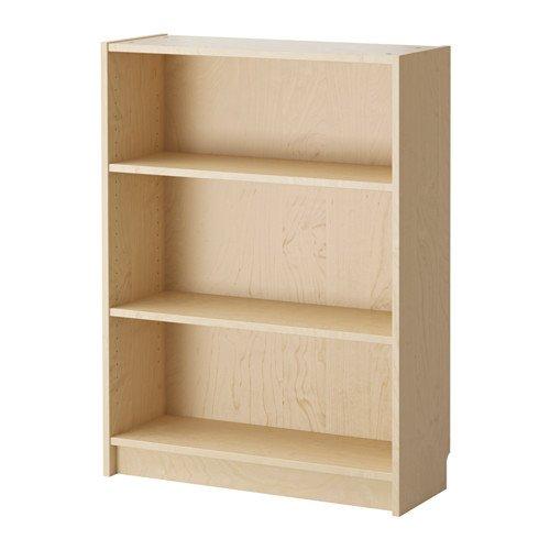 Ikea Billy –  Libreria, Betulla impiallacciato –  80 x 28 x 106 cm Betulla impiallacciato-80x 28x 106cm